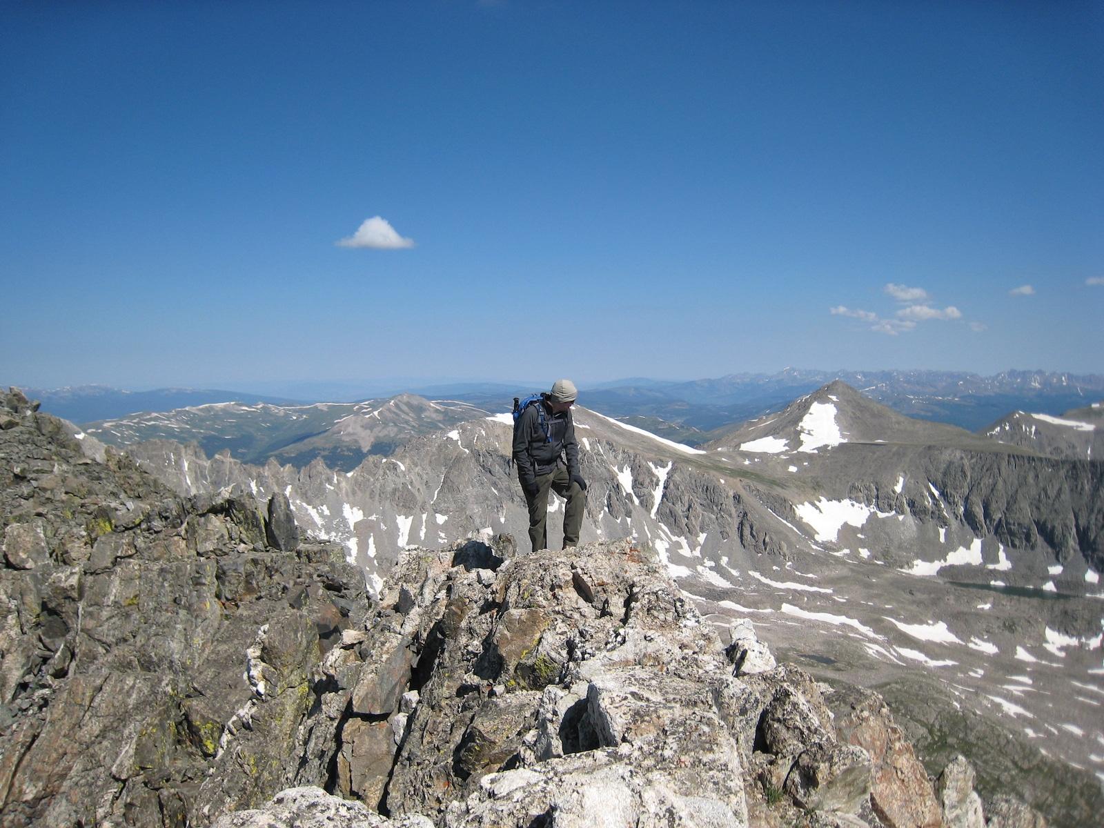 Quandary Peak Hiking West Ridge
