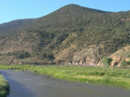 Image of the White River at the Rio Blanco SWA in Meeker, Colorado