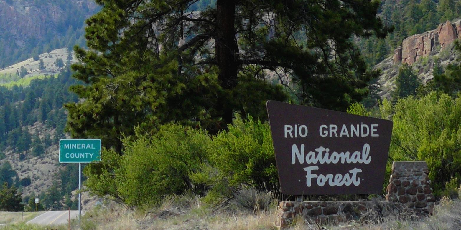 Rio Grande National Forest Mineral County Colorado