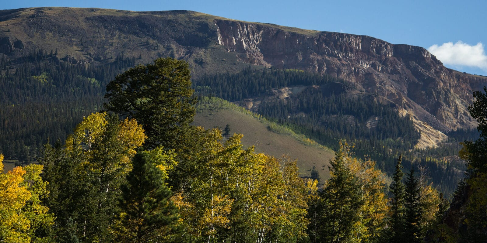 San Juan Mountains near Lake City CO