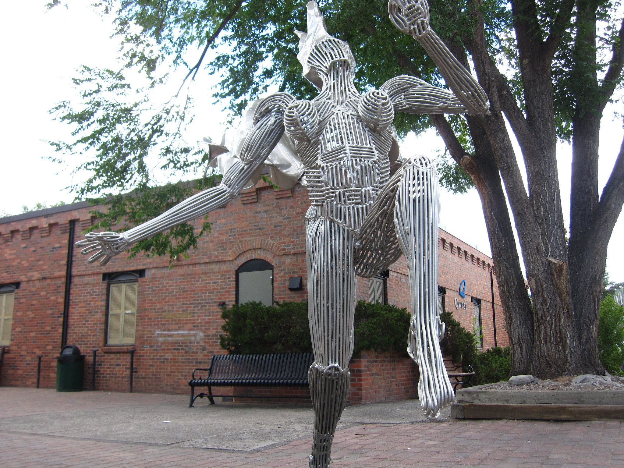 image of sculpture in downtown carbondale
