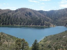 Image of the Seaman Reservoir near Fort Collins in Colorado