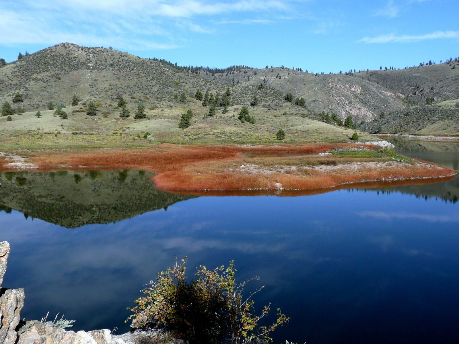 Image of the Seaman Reservoir in Bellvue, Colorado