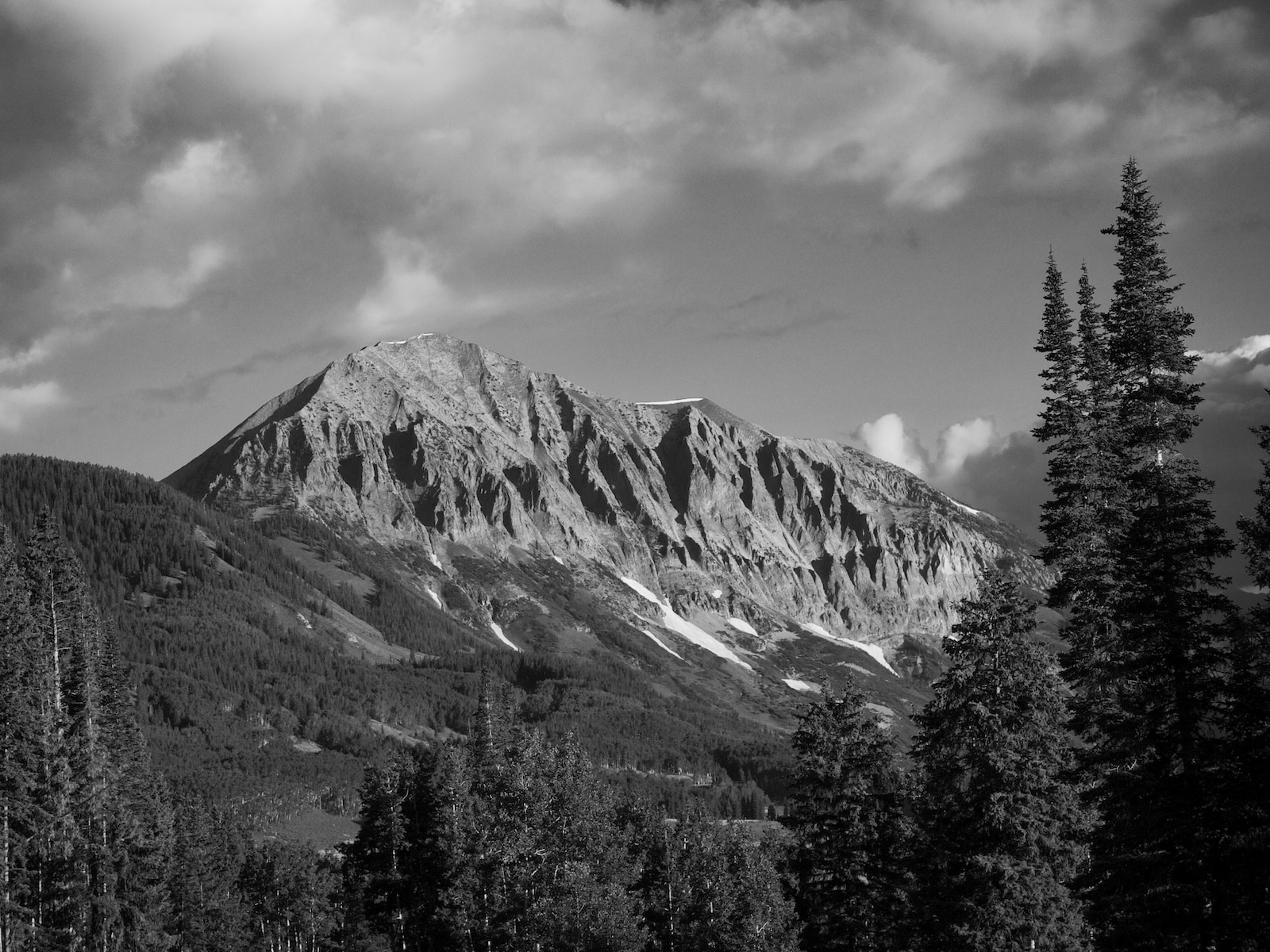 Snodgrass Mountain Crested Butte CO