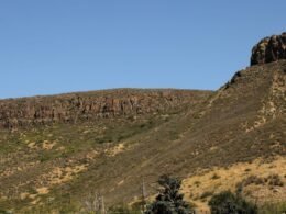 Image of South Table Mountain and Castle Rock in Golden, Colorado