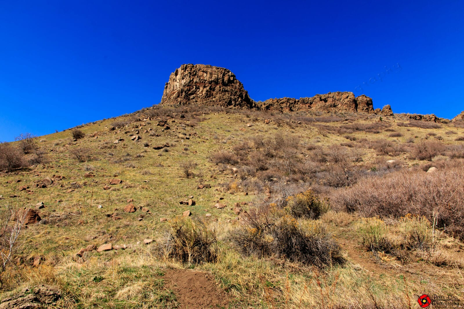 Image of the South Table Mountain in Golden, Colorado