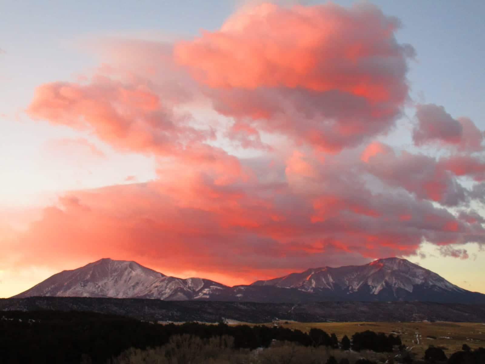 Spanish Peaks Dawn Colorado