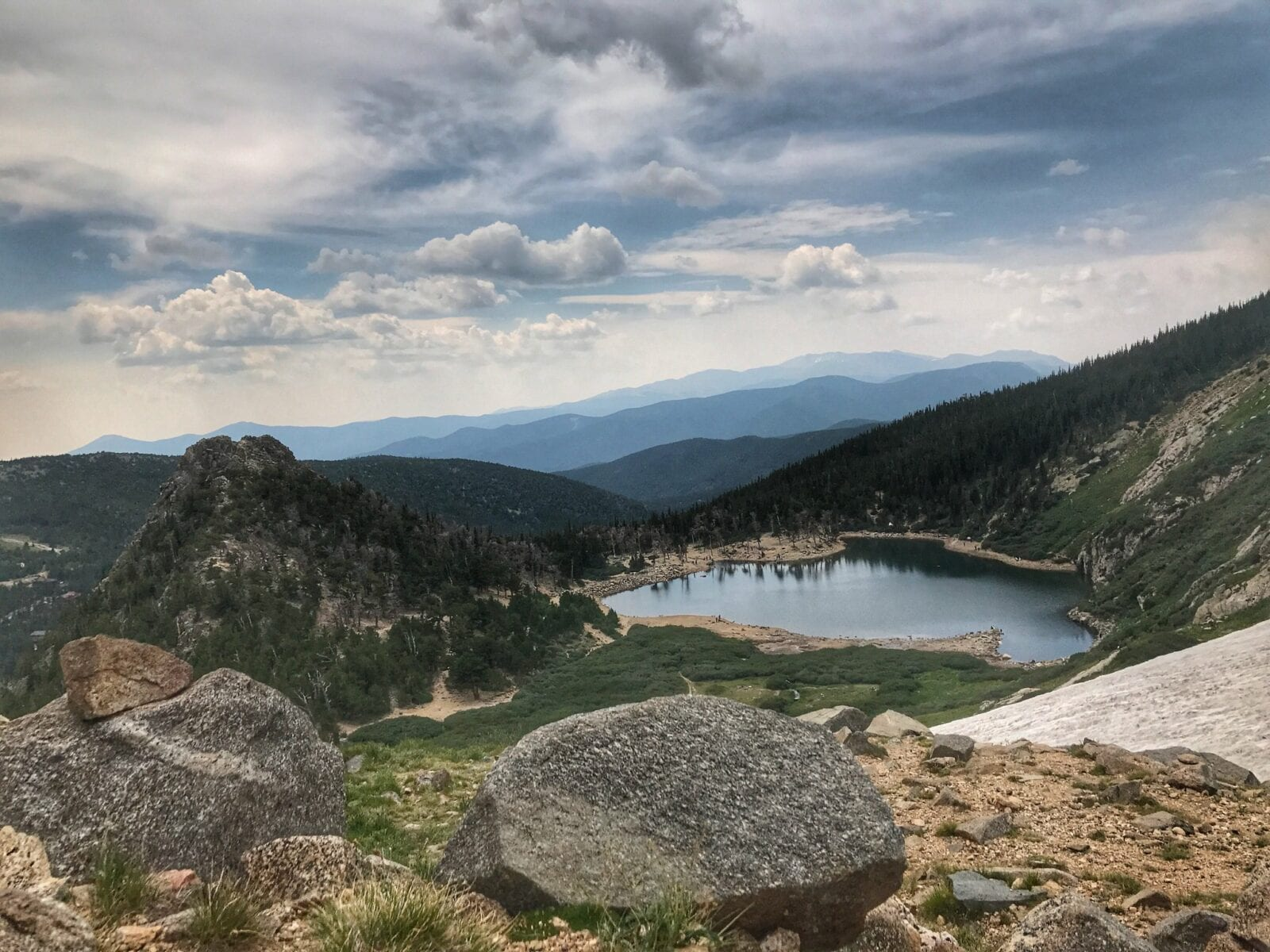 Image of St Mary's Glacier and Lake in Idaho Springs, Colorado