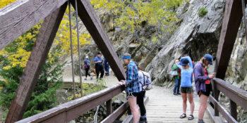 Fish Creek Falls Hiking Trail Steamboat Springs CO