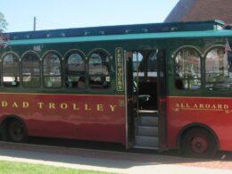 Image of the Trinidad Trolley in Trinidad, Colorado