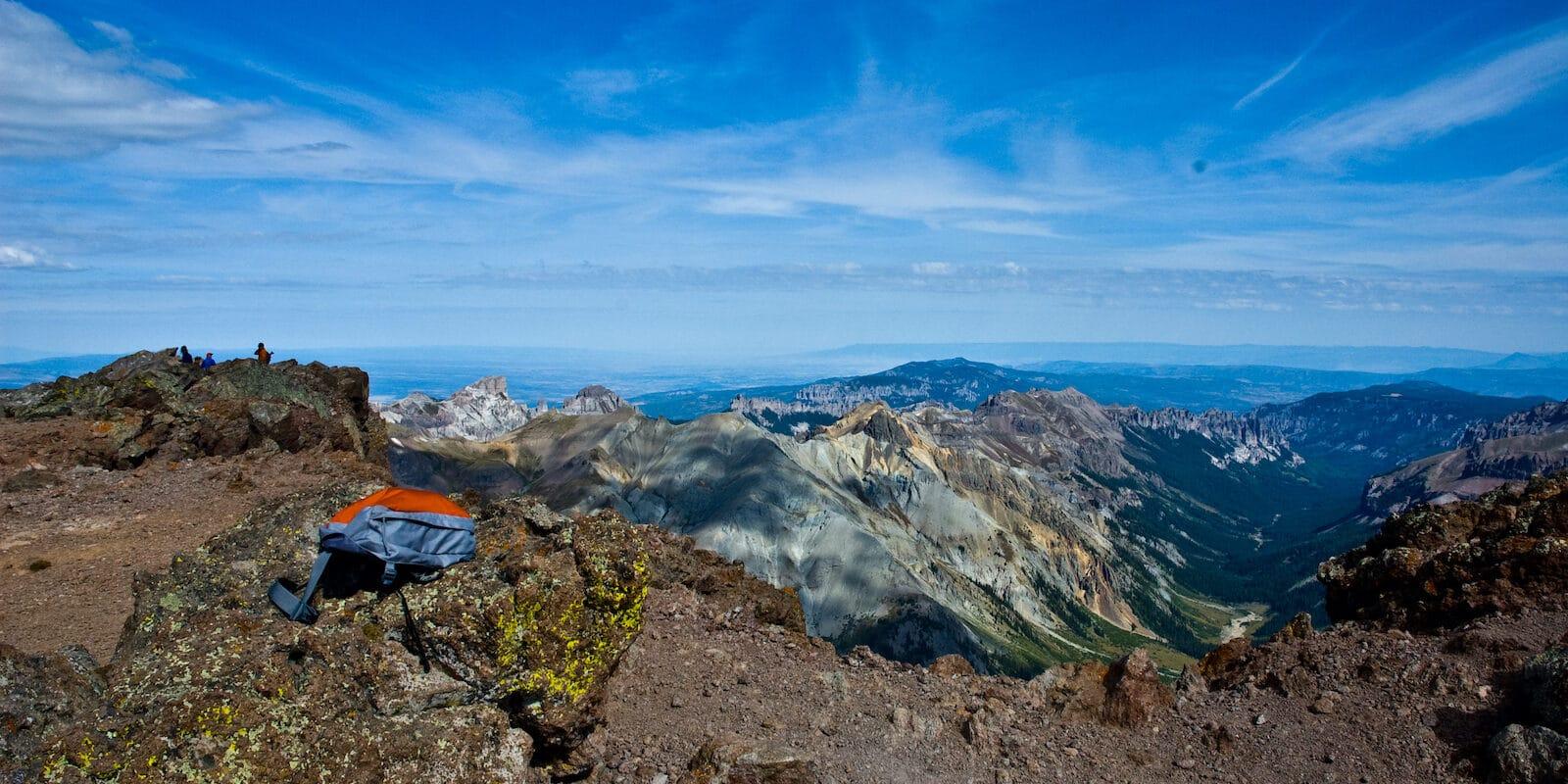 Hiking Uncompahgre Peak Montrose CO