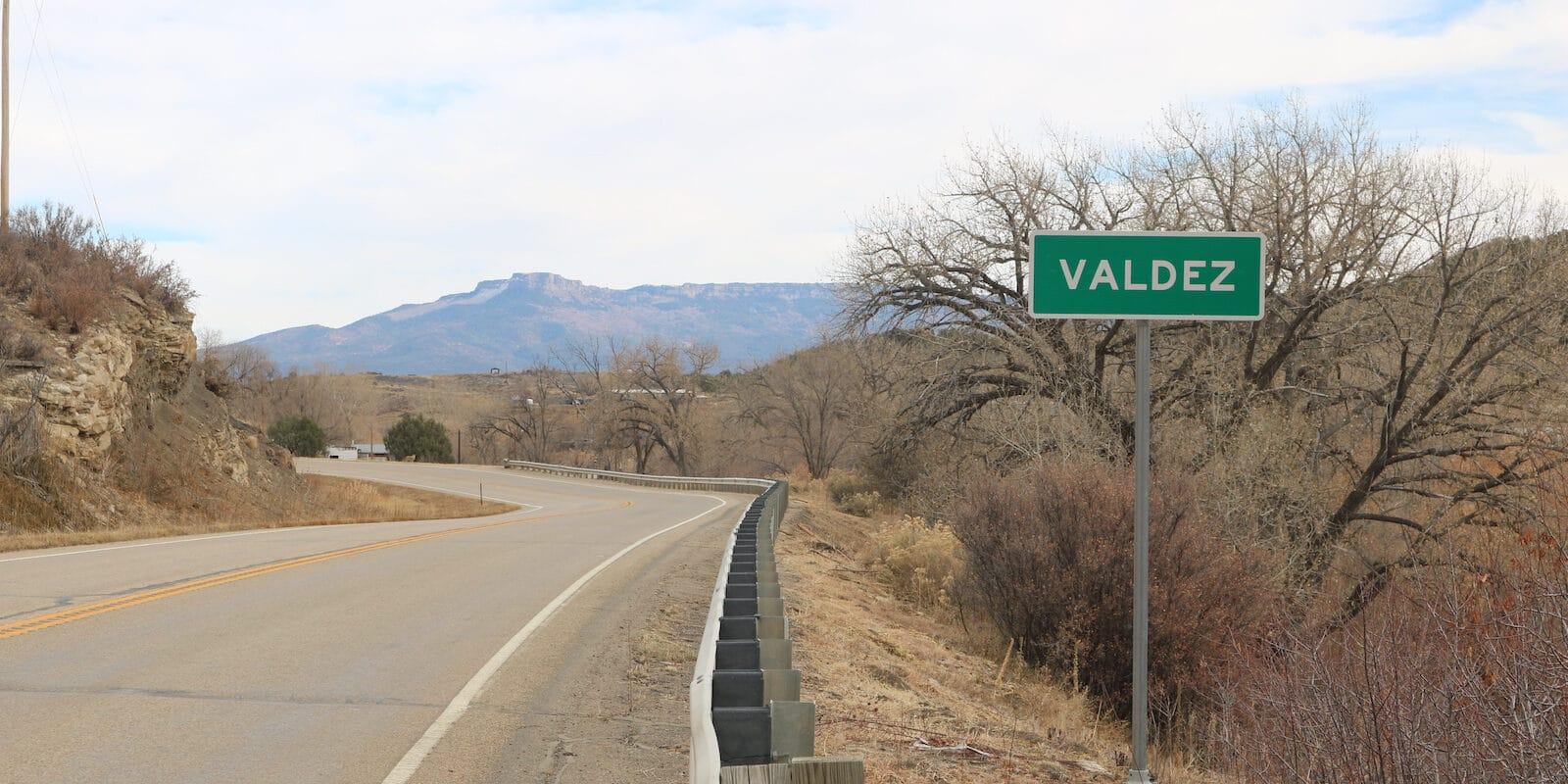 Valdez Colorado State Highway 12