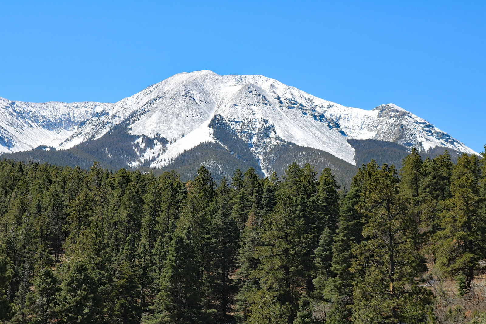 West Spanish Peak San Isabel National Forest