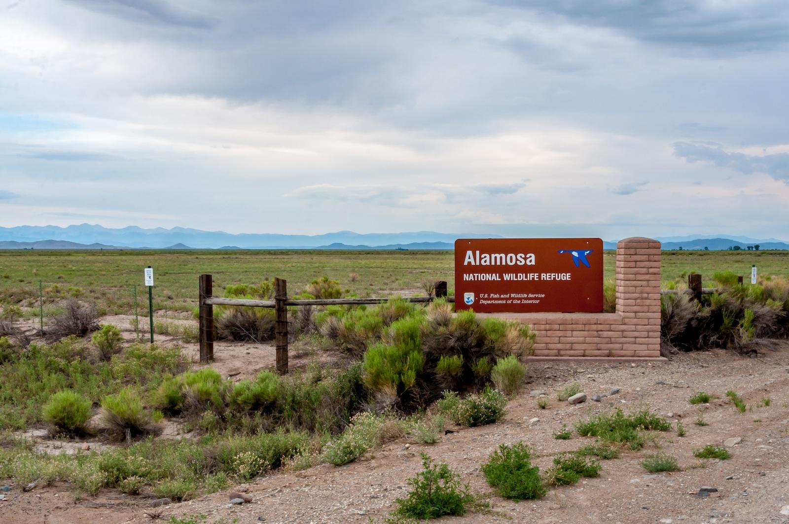 Suaka Margasatwa Nasional Alamosa, Alamosa