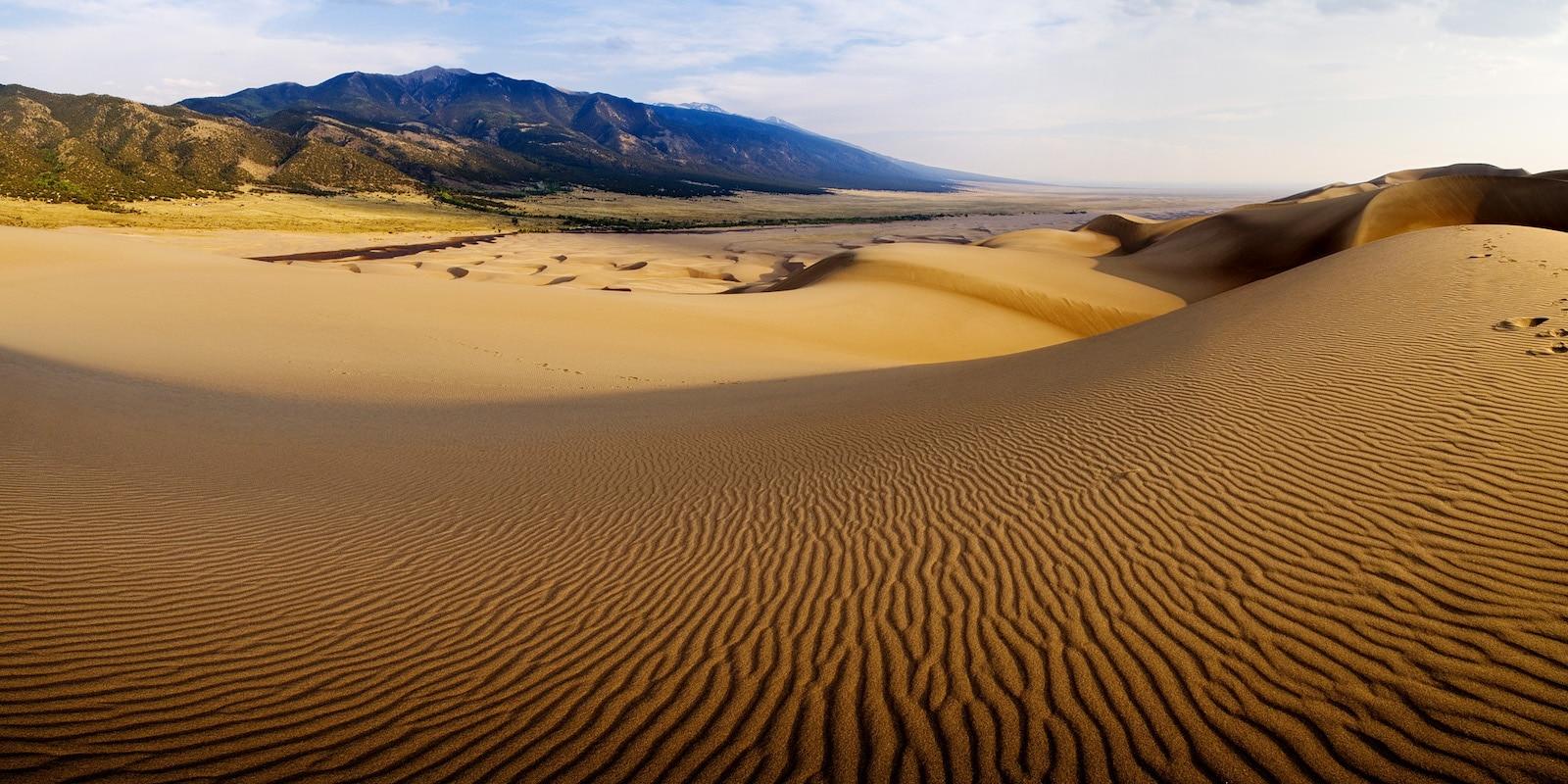 Taman Nasional Great Sand Dunes, CO