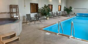 image of sandhill inn and suites pool