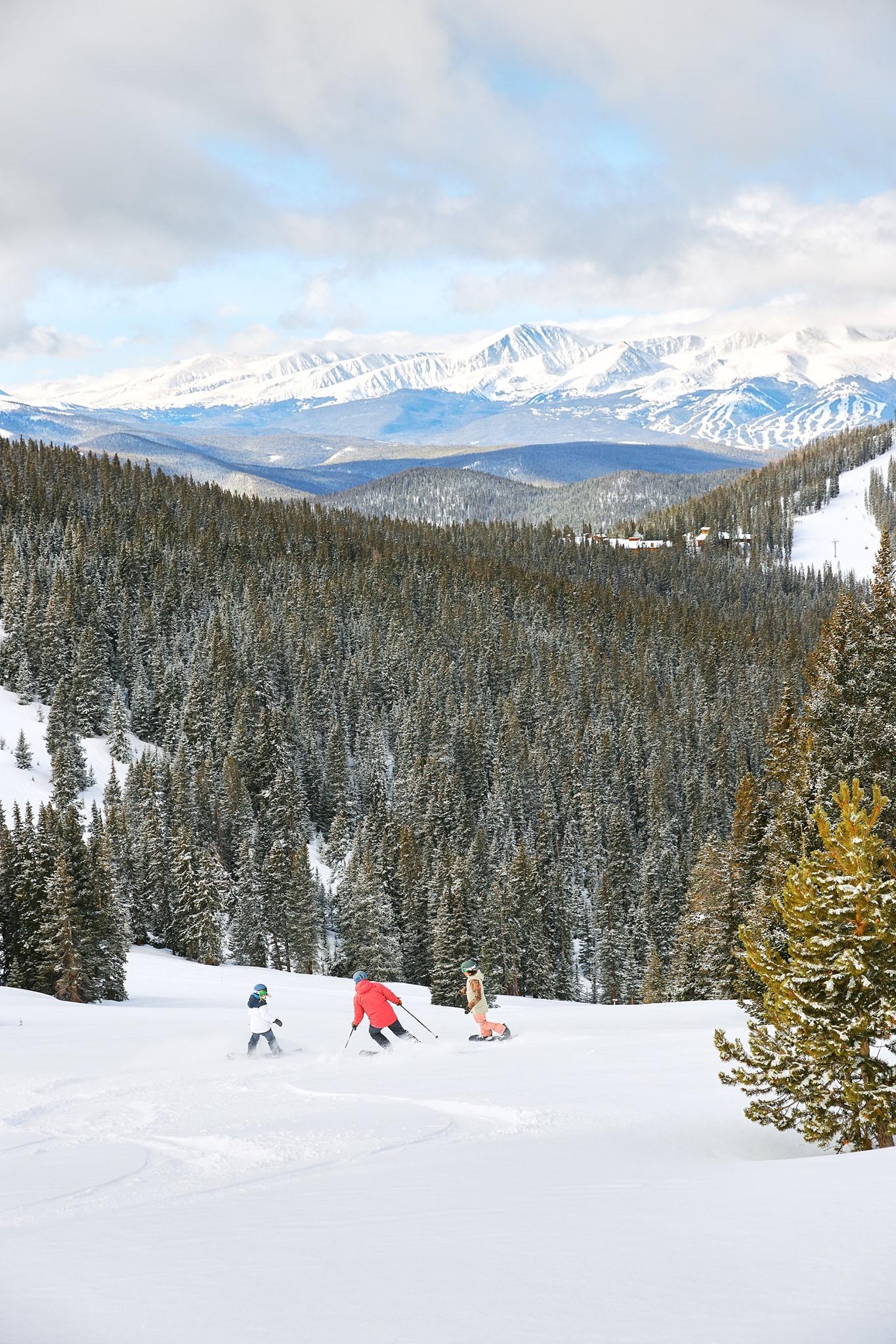 image of keystone ski resort