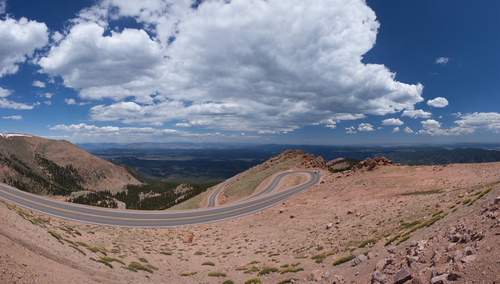 Pikes Peak Highway, CO