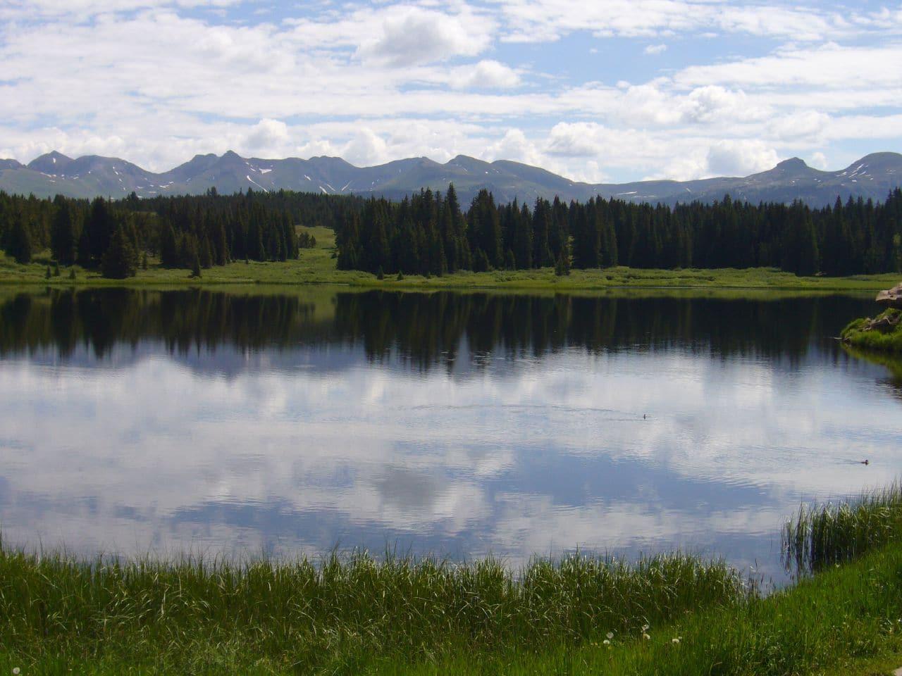 Andrews Lake Silverton Colorado