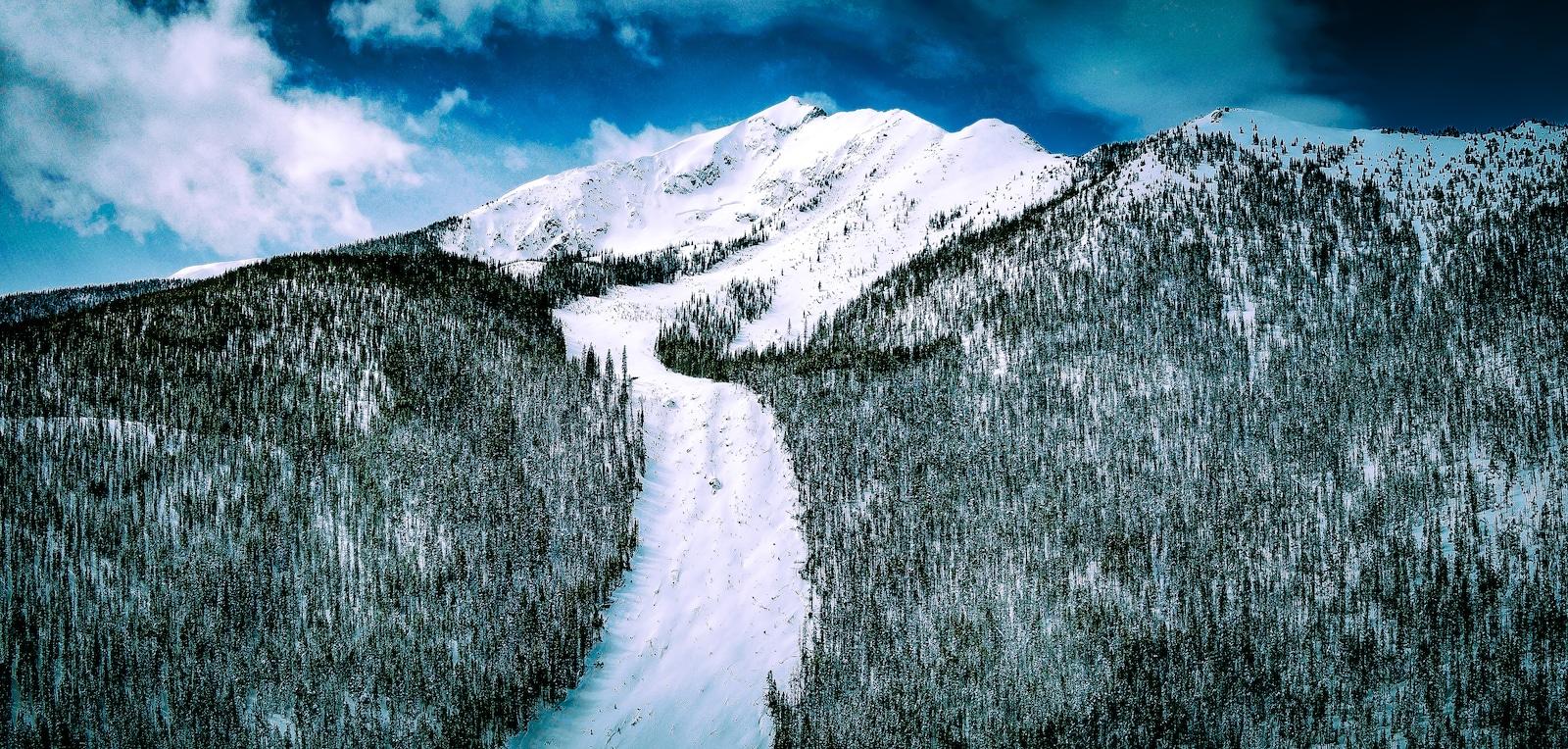 Avalanche Path Frisco Colorado Peak One