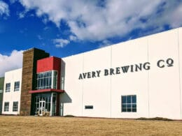 Image of the outside of the Avery Brewing Company in Boulder, Colorado