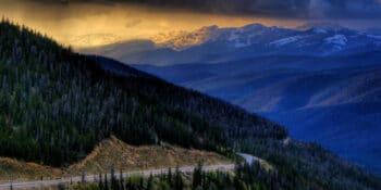 Berthoud Pass Sunset Hiking Colorado