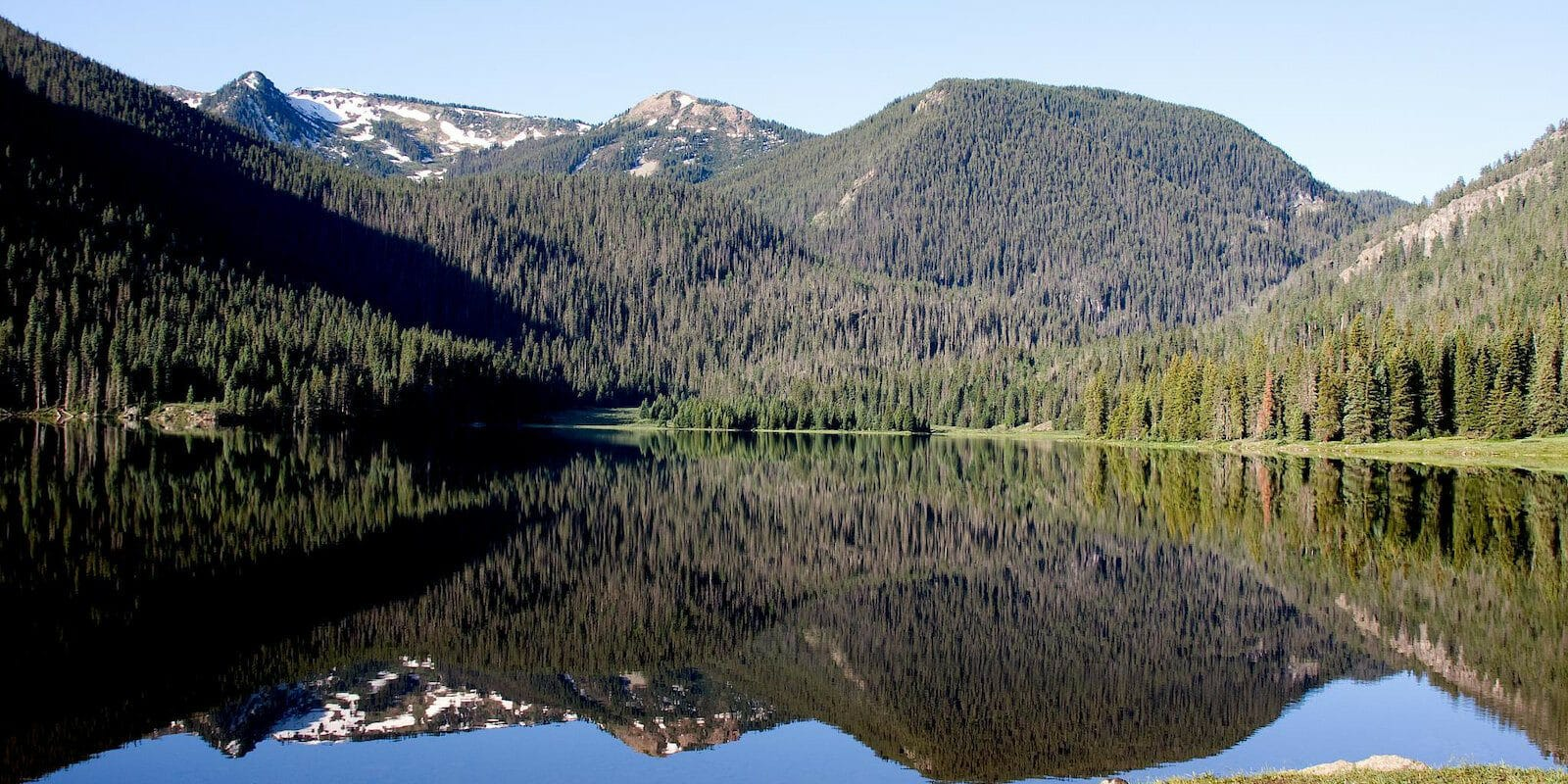 Image of the Big meadows Reservoir SWA in South Fork, Colorado