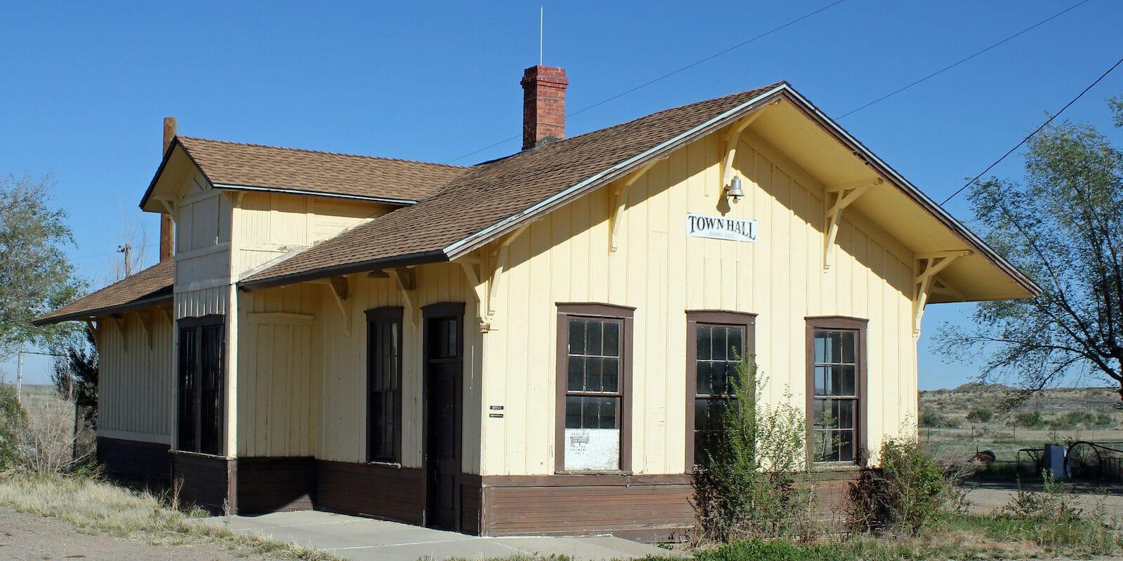 Boone CO Old Santa Fe Railroad Depot