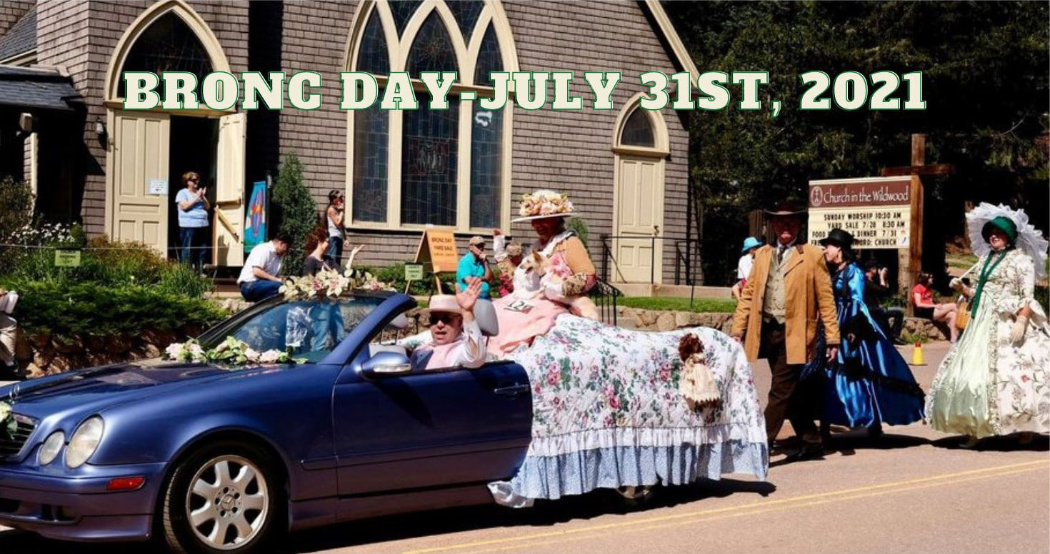 Bronc day Poster July 2021