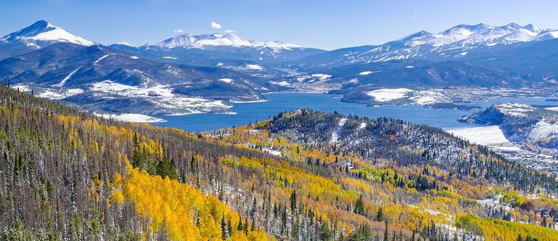 Waduk Dillon Ptarmigan Trail Colorado