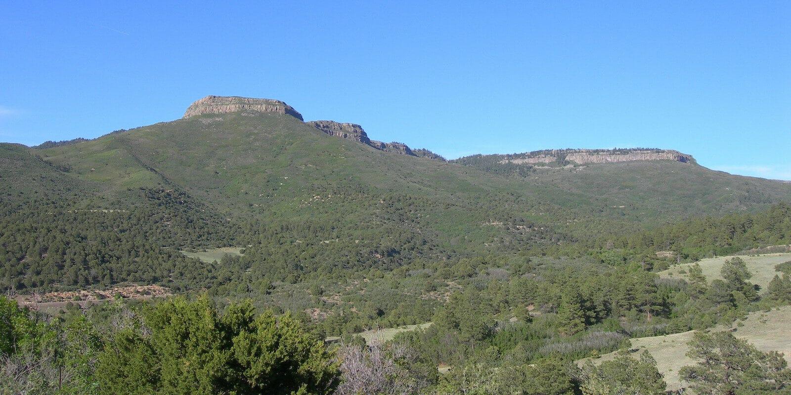 Image of Fishers Peak in Trinidad, Colorado