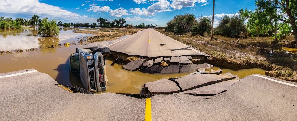 Colorado Flood 2013 Platteville