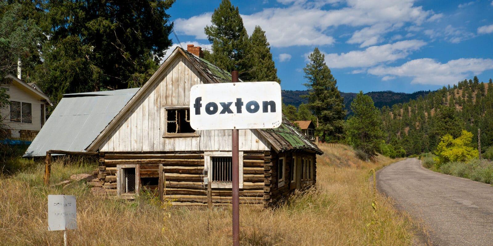 Foxton Post Office Colorado