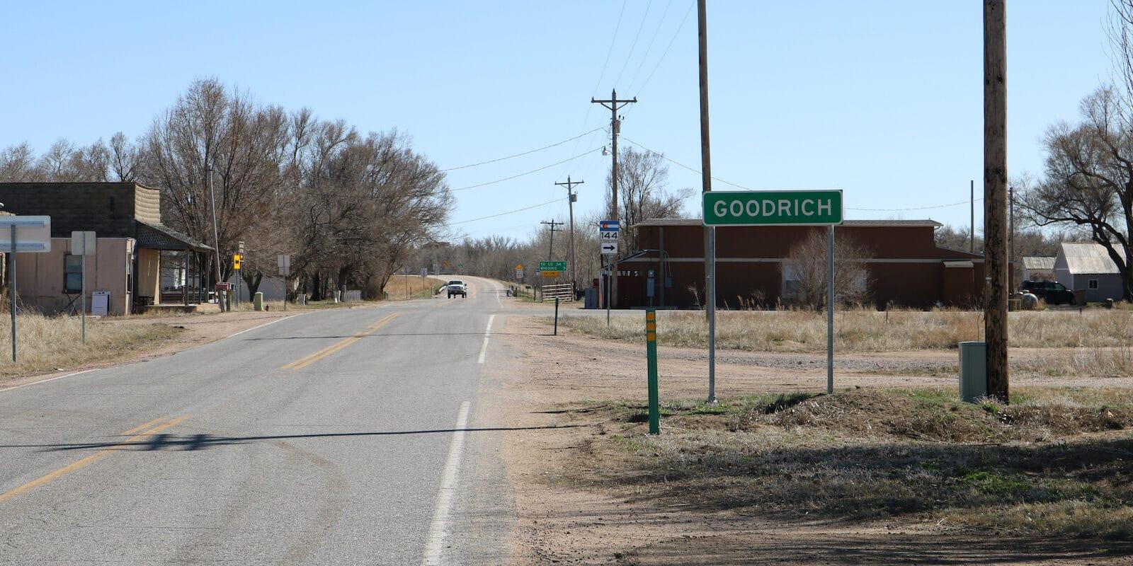 Goodrich Colorado Sign