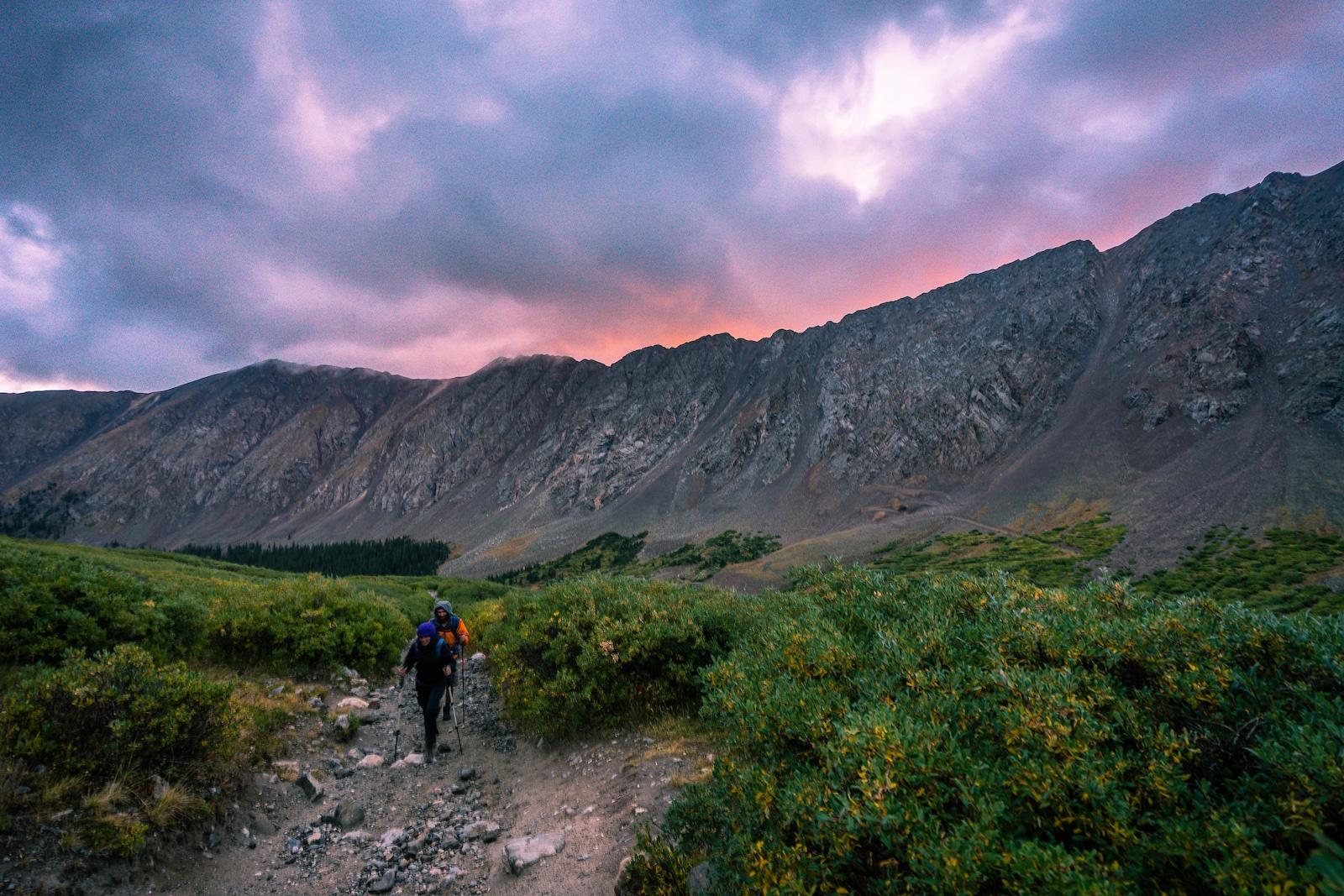 Grays Peak Sunrise Colorado