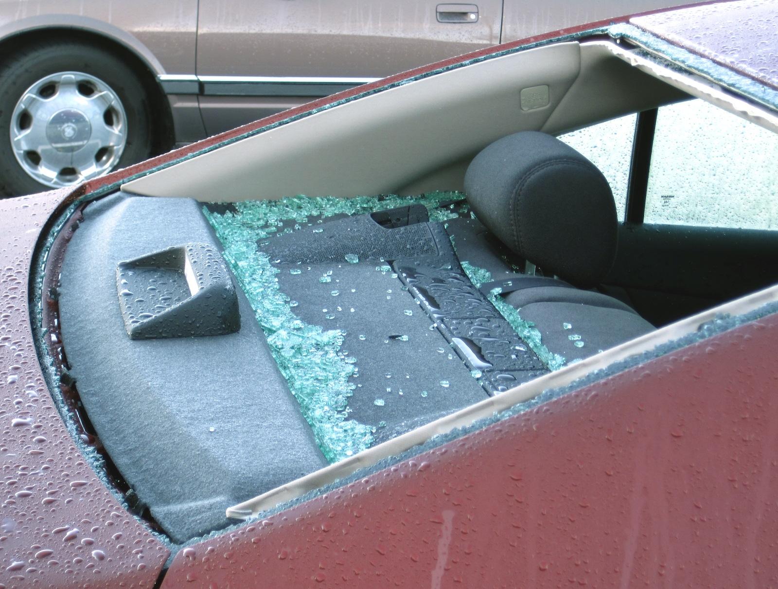 Hailstorm Limon Colorado Broken Windshield