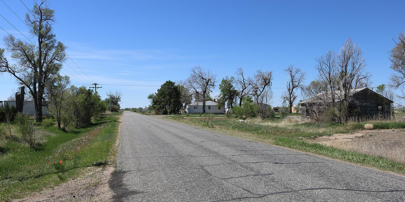 Hoyt Colorado Morgan County Road 4