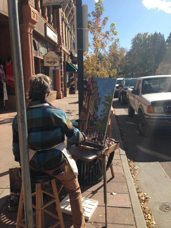 gambar artis di manitou springs artwalk
