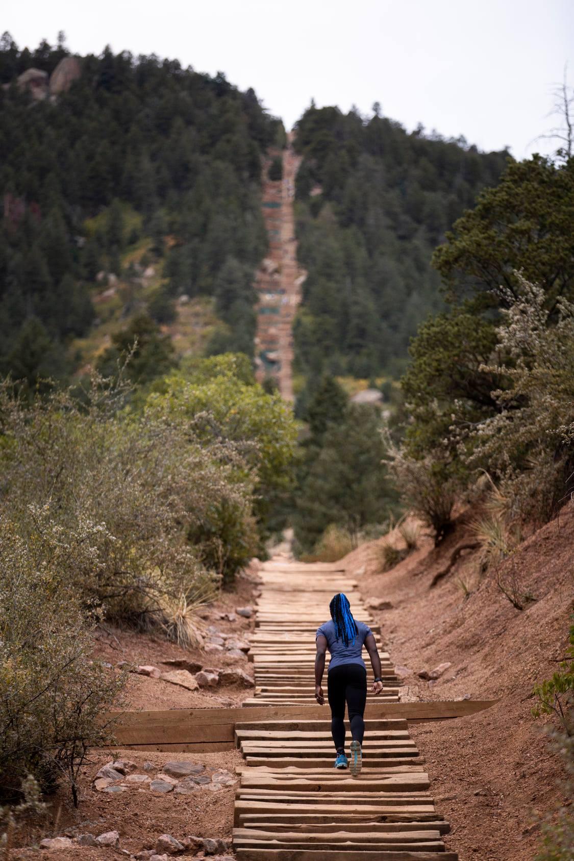 gambar dari manitou springs incline