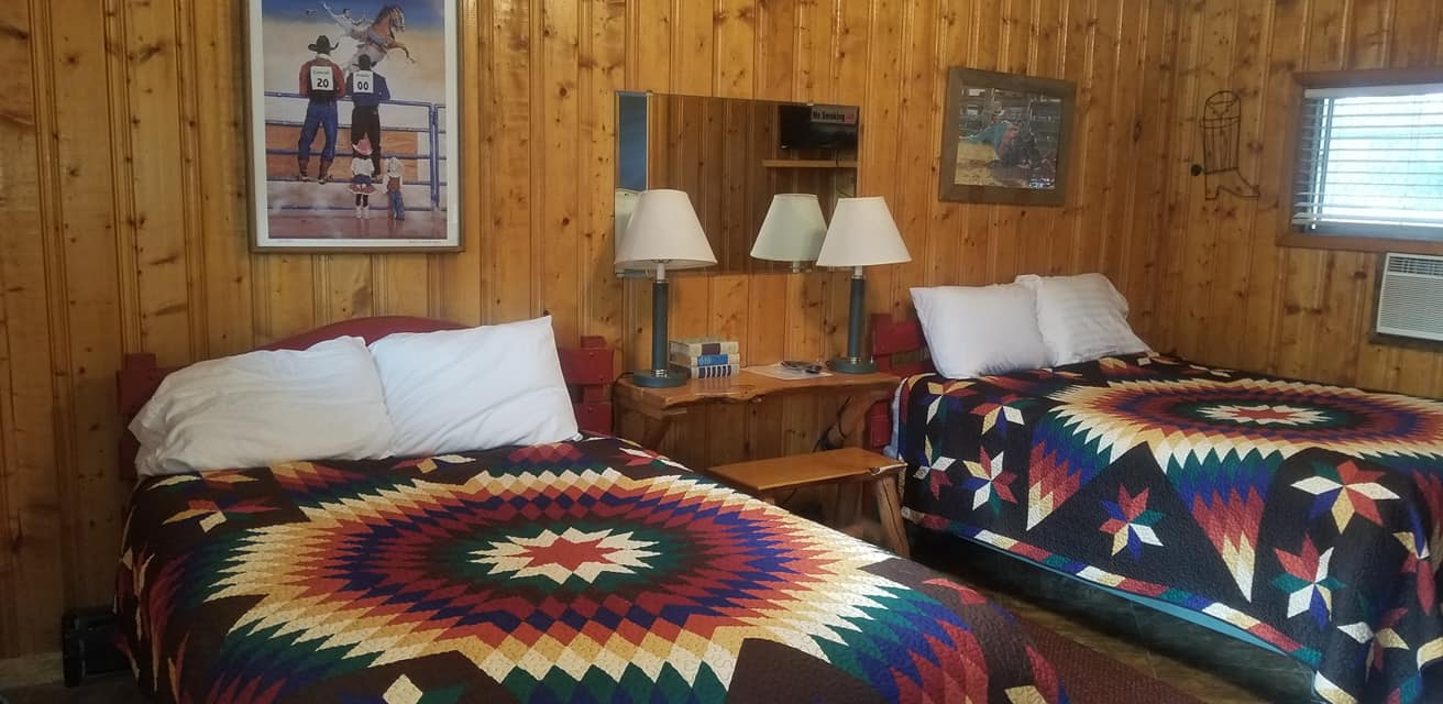 image of motel room at outpost hotel