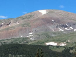 Image of Mount Bross in the Mosquito Range of Colorado