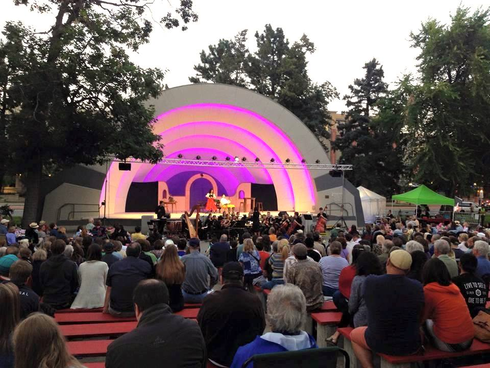 Opera in the Park Boulder CO