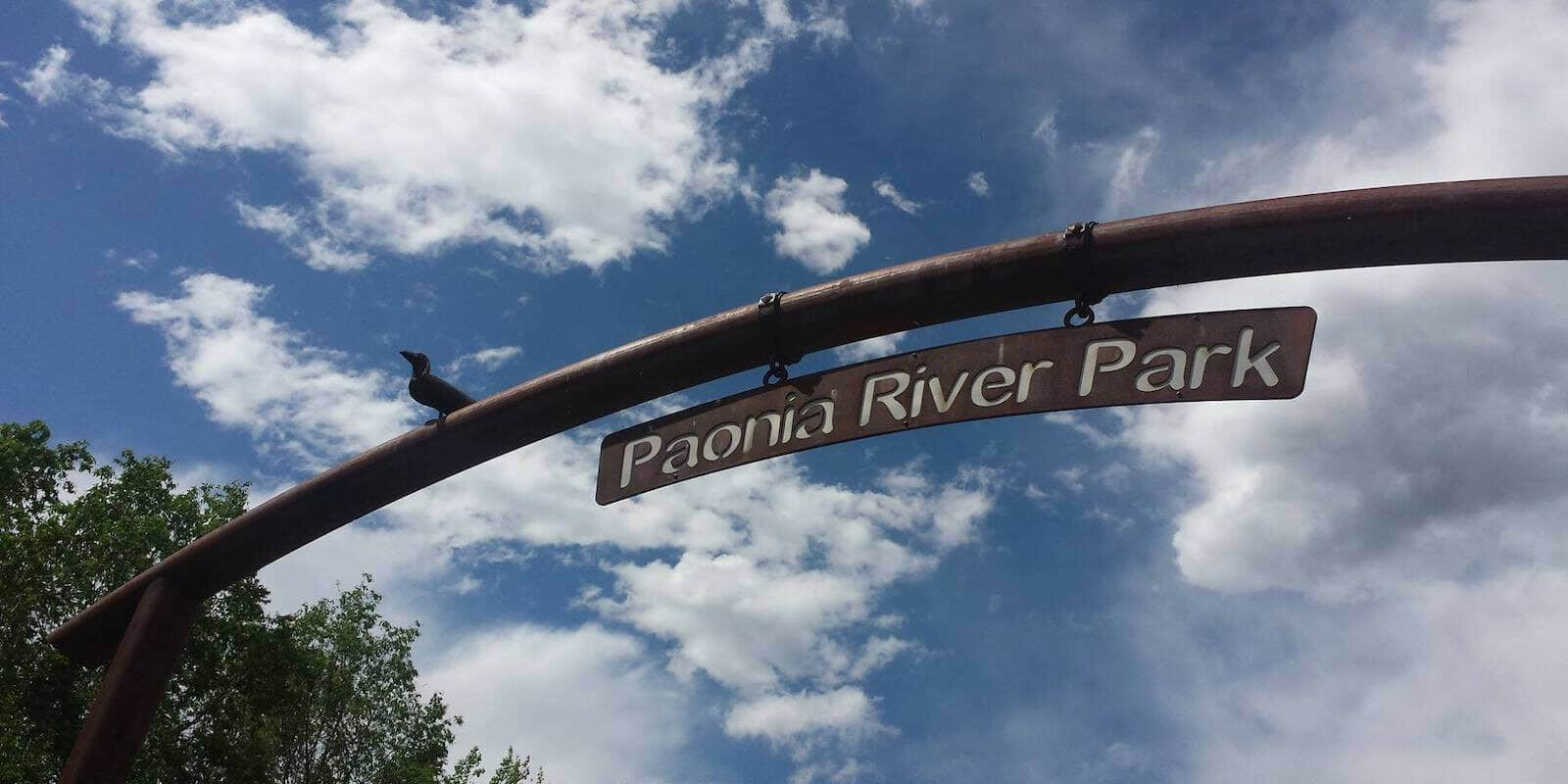 Image of the Paonia River Park in Colorado