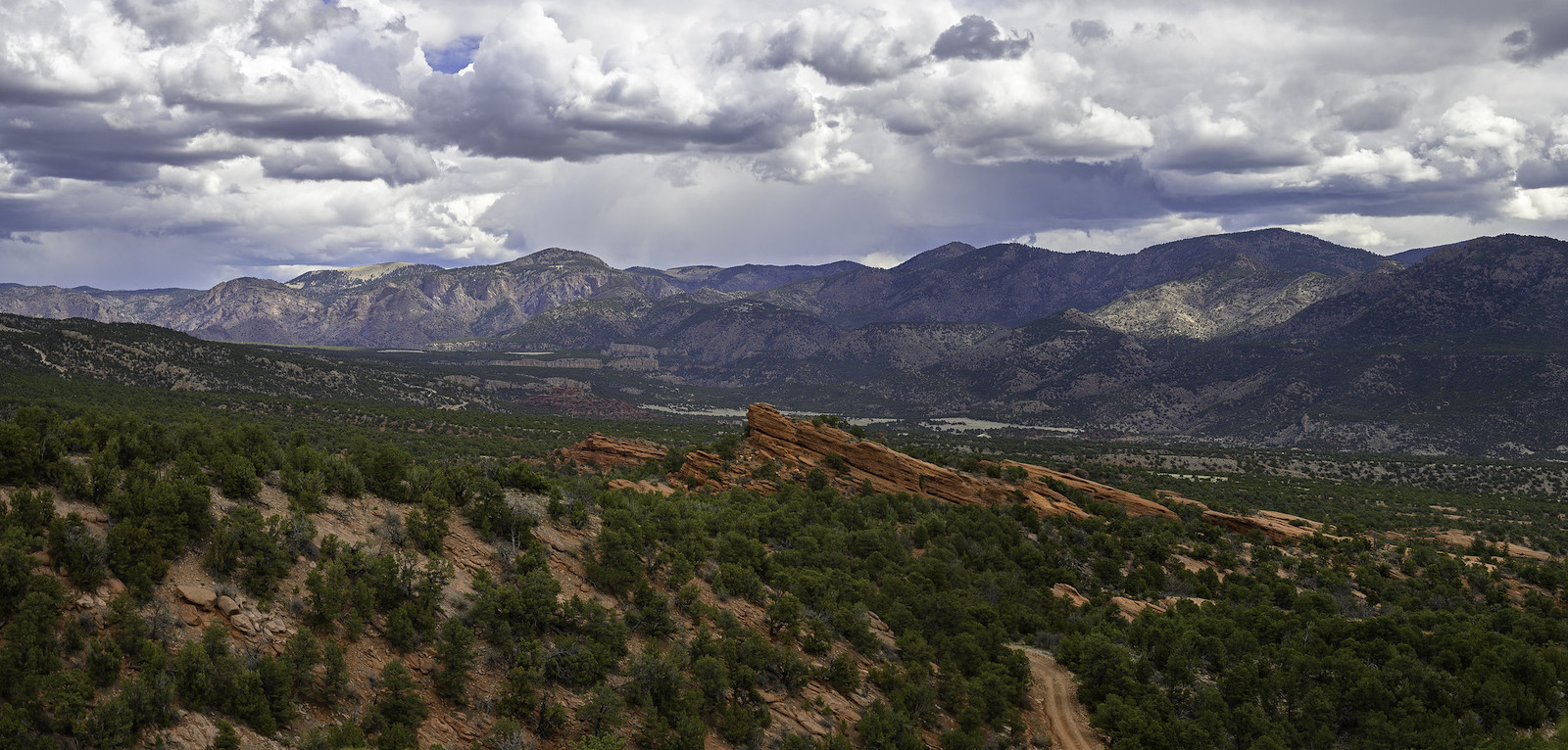 Image of a panoramic view of the Red Canyon Park in Canon City, Colorado