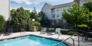 image of pool at residence inn highlands ranch