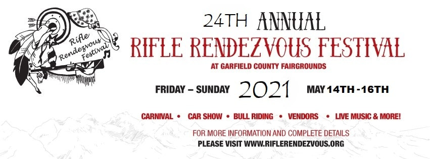 24th Rifle Rendezvous Festival Flyer