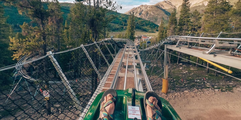 Image of the Rocky Mountain Coaster at Copper Mountain in Colorado