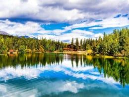 Image of the Sawmill Reservoir in Breckenridge, Colorado