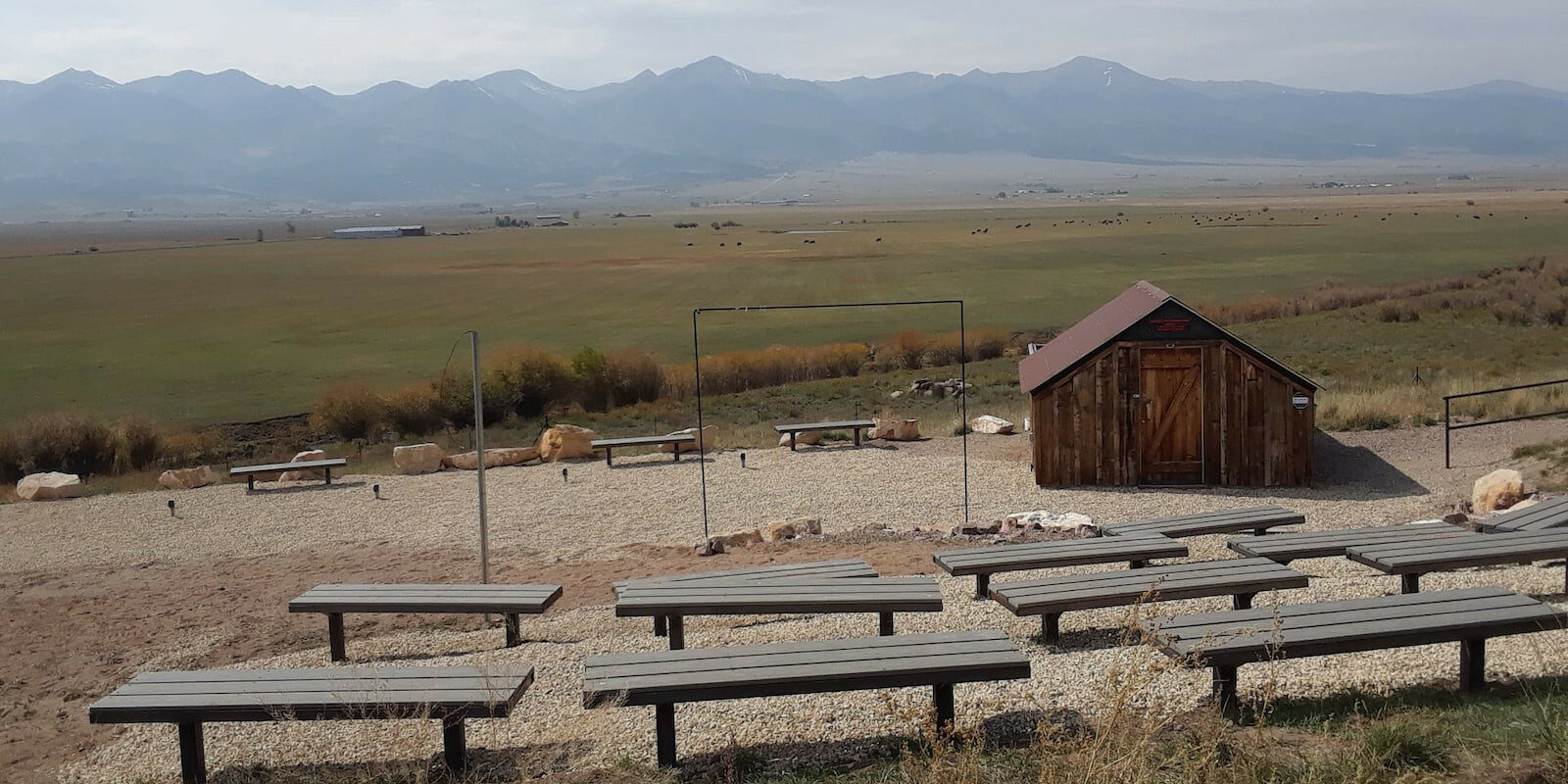 Image of the Smokey Jack Observatory in Westcliffe, Colorado
