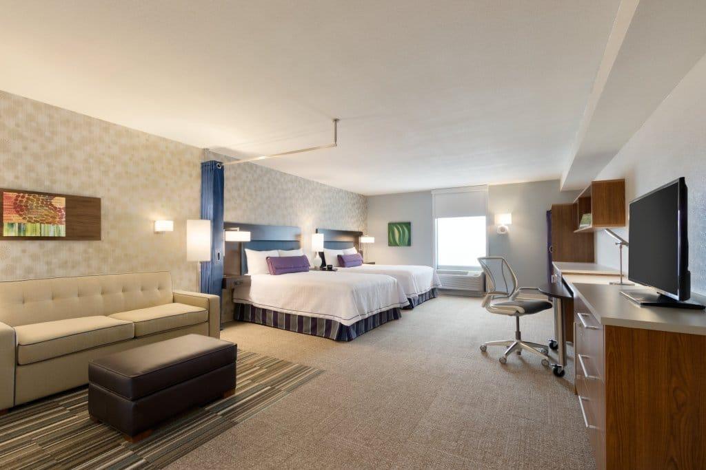 image of studio suite at home2 suites